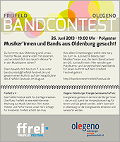 Flyer Bandcontest